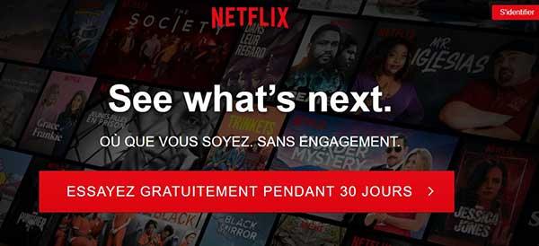 حسابات Netflix المجانية